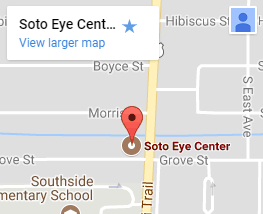 Soto Eye Center small map