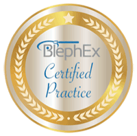 BlephEx Certicate Badge